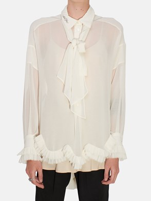 PHILOSOPHY BY LORENZO SERAFINI - WHITE ROUGE SHIRT