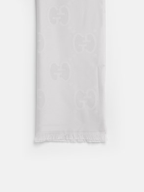 GUCCI - WHITE LADY NEST SCARF