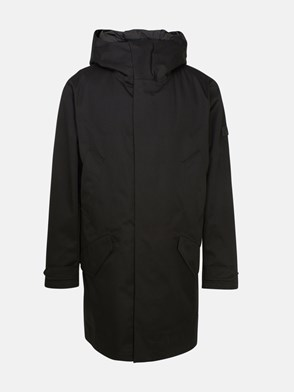 WOOLRICH - BLACK FISHTAIL PARKA