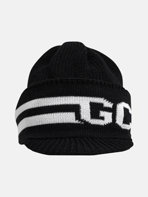 GCDS - BLACK BEANIE