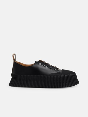 JIL SANDER - BLACK ANTIK SNEAKERS