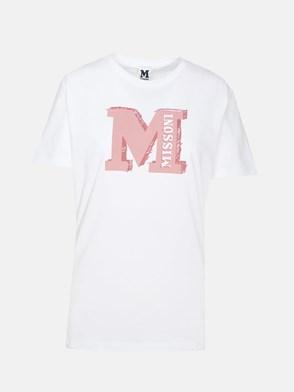 M MISSONI - WHITE T-SHIRT