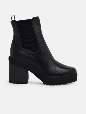 HOGAN - BLACK ANKLE BOOTS