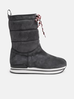 HOGAN - GREY RESTYLING BOOTS