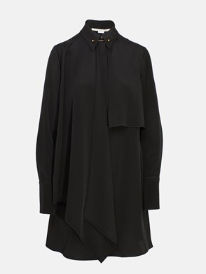 STELLA McCARTNEY - BLACK LAWSON DRESS