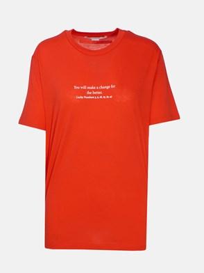 STELLA McCARTNEY - RED COOKIE T-SHIRT