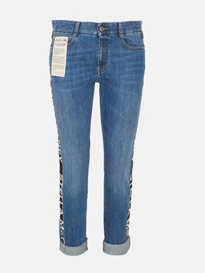 STELLA McCARTNEY - BLUE BOYFRIEND JEANS