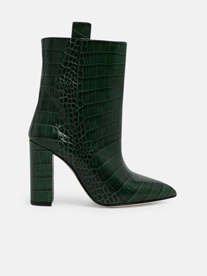 PARIS TEXAS - GREEN ANKLE BOOTS