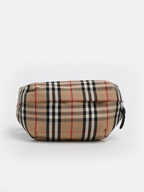BURBERRY - CHECK FANNY PACK