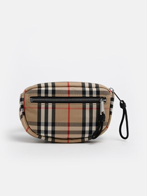 BURBERRY - CANNON CHECK FANNY PACK