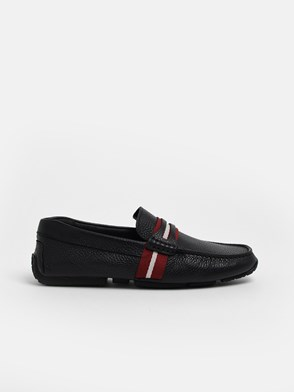 BALLY - BLACK PIETRO LOAFERS