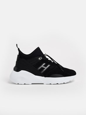 HOGAN - BLACK SNEAKERS