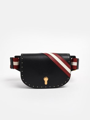 BALLY - BLACK CLAYN FANNY PACK