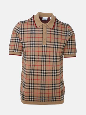 BURBERRY - WESTBROOK CHECK POLO SHIRT