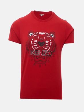 KENZO - T-SHIRT TIGRE ROSSA