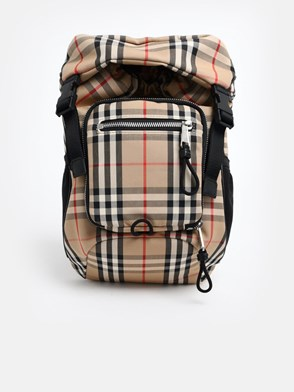 BURBERRY - ZAINO LEO CHECK
