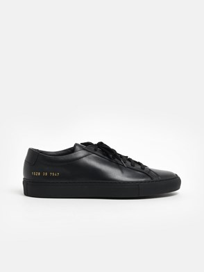 COMMON PROJECTS - BLACK ACHILLIES SNEAKERS