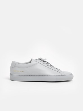 COMMON PROJECTS - GREY ACHILLIES SNEAKERS