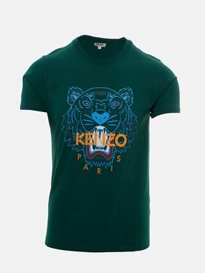 KENZO - T-SHIRT ICON TIGRE VERDE