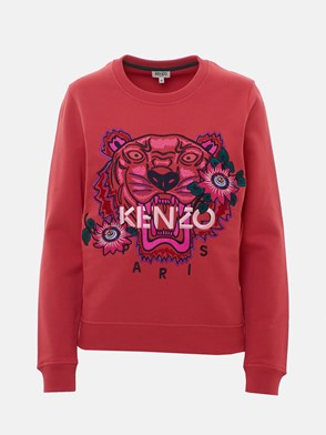 KENZO - CORAL RED TIGER SWEATSHIRT