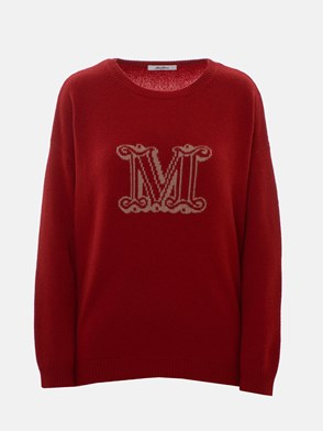MAX MARA - RED CANNES SWEATER