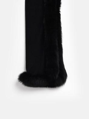 MAX MARA - BLACK ARIA CAPE