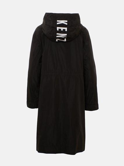 KENZO BLACK TRENCH COAT