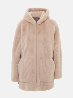 BLANCHA - CREAM FUR COAT