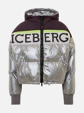 ICEBERG - SILVER DOWN JACKET