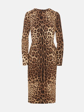 DOLCE & GABBANA - LEOPARD PRINT DRESS