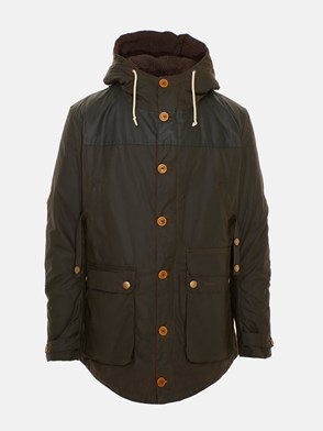 BARBOUR - PARKA GAME CAPPUCCIO VERDE