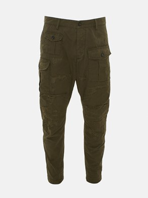 DSQUARED2 - GREEN CARGO PANTS