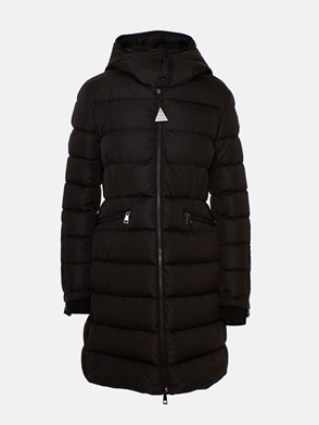 MONCLER - LONG BLACK DOWN JACKET