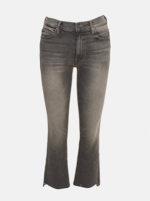 MOTHER - GREY STEP FRAY JEANS