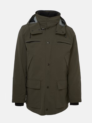FAY - GREEN HEAVY COAT