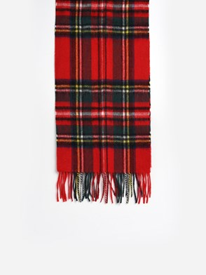 BARBOUR - RED SCARF