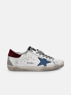GOLDEN GOOSE DELUXE BRAND - WHITE O91 SUPERSTAR SNEAKERS