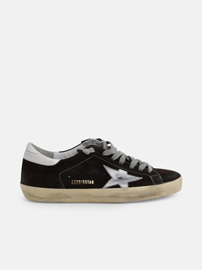 GOLDEN GOOSE DELUXE BRAND - BROWN Q53 SUPERSTAR SNEAKERS