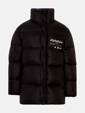 ALPHASTYLE - BLACK NAYAN SHORT DOWN JACKET