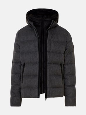 FAY - GREY BLACK DOWN JACKET