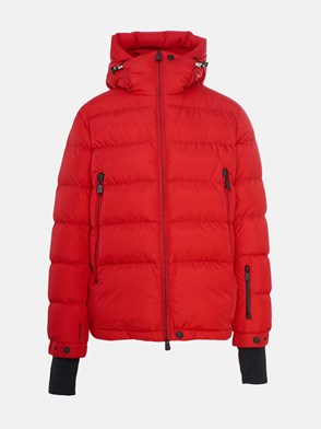 MONCLER GRENOBLE - RED ISORNO DOWN JACKET