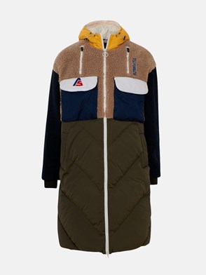 ALPHASTYLE - MULTICOLOR SKUA LONG HEAVY COAT