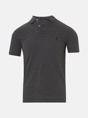 POLO RALPH LAUREN - GREY POLO SHIRT