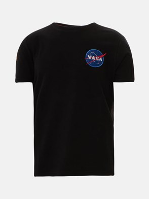 ALPHA INDUSTRIES - BLACK T-SHIRT