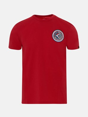 ALPHA INDUSTRIES - RED T-SHIRT