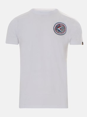 ALPHA INDUSTRIES - WHITE T-SHIRT