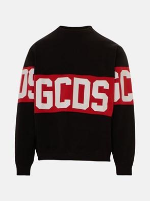 GCDS - BLACK SWEATSHIRT