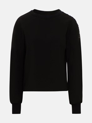 ICEBERG - BLACK SWEATSHIRT