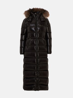 MONCLER - BLACK HUDSON DOWN JACKET