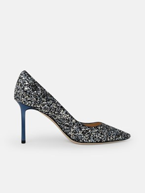 JIMMY CHOO - DECOLLETE ROMY BLU